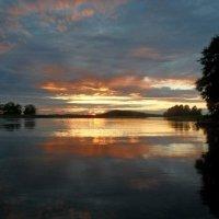закат в Норвегии :: Валерия Яскович