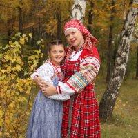 Мама с дочкой. :: Галина Смирнова