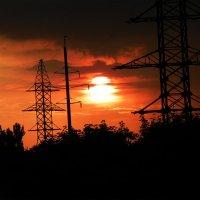 На закате энергетики :: Ярослав Харченко