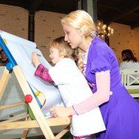 Рапунцель и маленькая девочка :: Юлия Гафарова