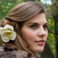 Цвет в волосах :: Софья Петрова
