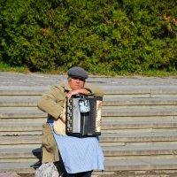 уличный  слепой музыкант :: Elenn S