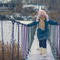 на мосту :: Яна Шмелёва