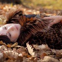 Осень и Анна :: Елена Давыдова
