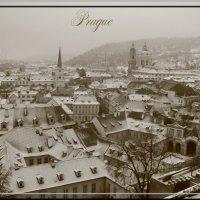 Зима в Праге :: Ольга Прядкина