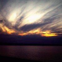 Финский залив.По дороге домой. :: Вика Курилова