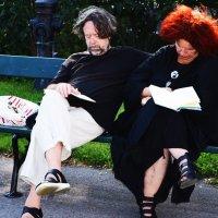 Ведьмак и ведьма в отпуске. :: Katherine Filts