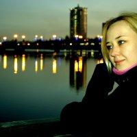 Вечереет..... :: Дарья Довгопольская
