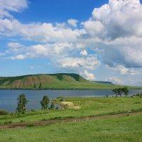 Небесное озеро. :: Наталья Юрова