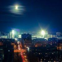 Синее сияние :: Антон Дёжин