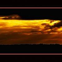 Закат в Самарии. :: Shmual Hava Retro