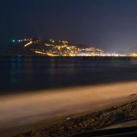 Лето. Ночь. Город. Море. :: Сергей Анисимов