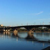 Мост через Ангару :: Павел Каморных
