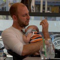 Отец и сын. :: ФотоЛюбка *