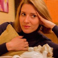 Погруженная в мысли :: Анастасия Шаехова