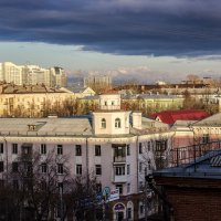Под покровом облаков, свет над тенью - спор веков 2 :: Андрей Качин