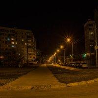 Вечер в спальном районе... :: Сергей Сердечный