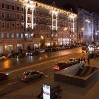 вечером на пушкинской :: Александр Шурпаков