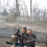 Чаепитие на природе :: Marina Timoveewa