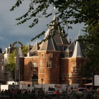 Прогулки по Амстердаму-Старая церковь :: Дмитрий Сотников