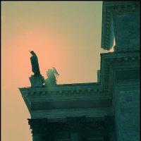 Обратный cross по Питеру. Молитва. :: Макс Балакин