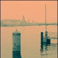 Обратный cross по Питеру. В ожидании кораблей... :: Макс Балакин