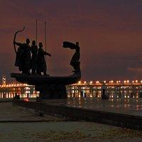 Three Princes and Princess - Founders of Kiev :: Roman Ilnytskyi