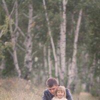 Папа и дочка :: Лиля Тикоцкая