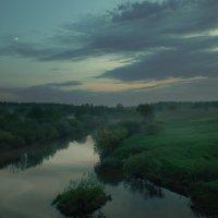 Утренняя пастораль для сонной реки… :: Александр   Матвей БЕЛЫЙ