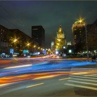Смоленская улица вечером :: Наталья Rosenwasser