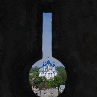 Вид из бойницы старой крепости в г.Каменец-Подольский :: Александр Крупский