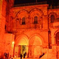 Храм Гроба Господня в Иерусалиме ночью :: Александр Тверской