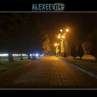 алея на полощади, г. Хмельницкий, Украина :: Oleg Alexeevich