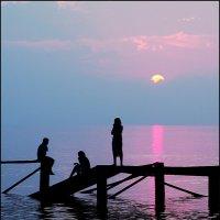 Вечер у моря :: Александр Гризодуб