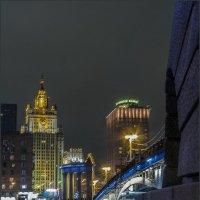 Бородинский мост и МИД :: Наталья Rosenwasser