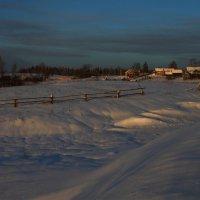 Заснеженная деревенька :: Сергей Филимонов