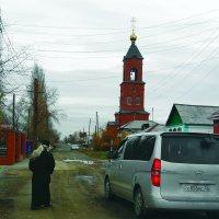 дорога к храму :: Юлия Мошкова