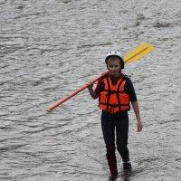 Девушка с веслом :: Katerina Andrievskaya