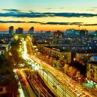 вечерний город :: Алексей Дубровин