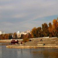 Набережная Ангары :: Максим Стрижаченко