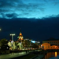 ночной город :: евгений Смоленцев