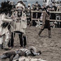 Индейцы и ковбой :: G Nagaeva