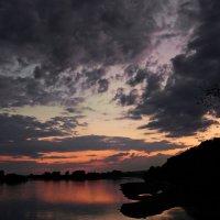 Вороны на фоне заката. :: Владимир Михайлович Дадочкин
