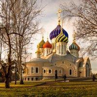 Храм Святого Благоверного князя Игоря Черниговского. Солнечное, морозное утро. :: Роман —-
