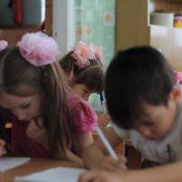 один день из жизни детского сада :: Дарья Осадчая