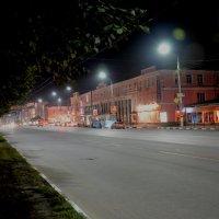 ночная Тула, улица Советская :: Александр Козлов
