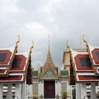 Бангкок. Комплекс королевского дворца. Симметрия :: Владимир Шибинский