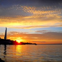 Волшебный закат  в Севастополе :: Svetlana Kravchenko