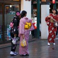 На старинных улочках Киото :: Sofia Rakitskaia