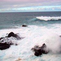 Атлантика легкий прибой :: Дмитрий Ибрагимов